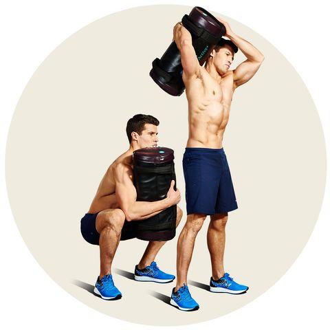 Sandbag workout routine